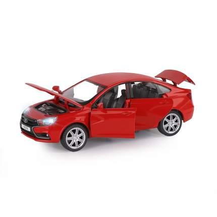 Машинка металлическая Автопанорама, LADA VESTA седан, масштаб 1:24, JB1251125