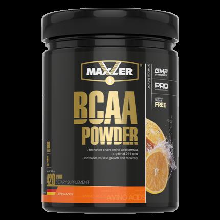 Maxler BCAA Powder 2:1:1 Sugar Free 420 г orange