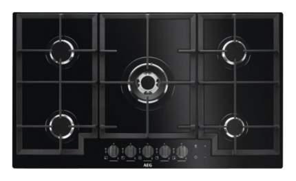 Встраиваемая варочная панель газовая AEG HKR95540NB Black