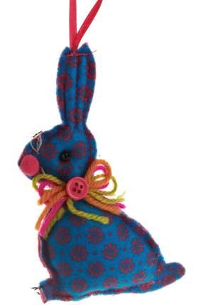 Елочная игрушка Monte Christmas Зайчик N6090144 14 см 1 шт.
