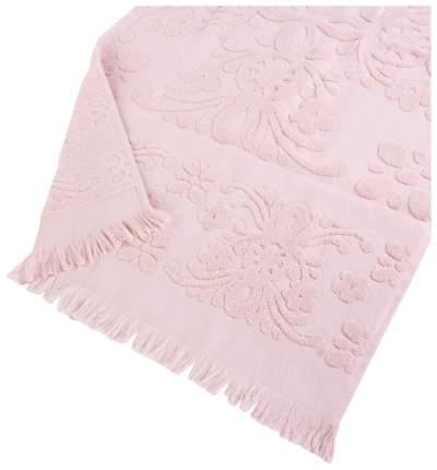Банное полотенце, полотенце универсальное Arya с бахромой розовый