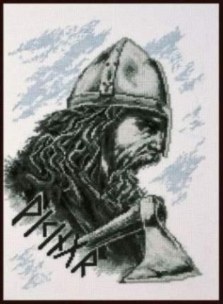 Набор для вышивания Палитра 07.015 Викинг 19х26см