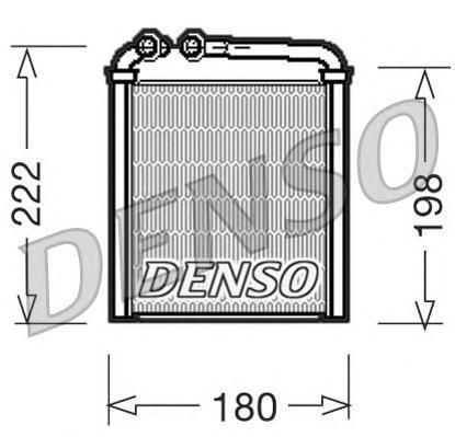 Радиатор Denso DRR32005