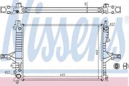 Радиатор Nissens 65553A