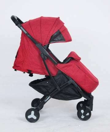 Прогулочная коляска TOMMY TRAVEL red, красный