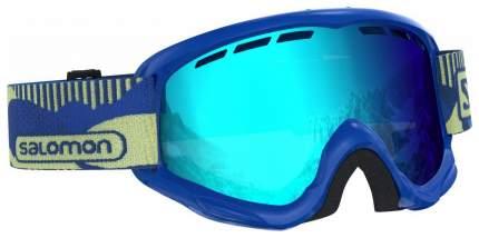 Горнолыжная маска Salomon Juke 2019 blue pop mid blue S