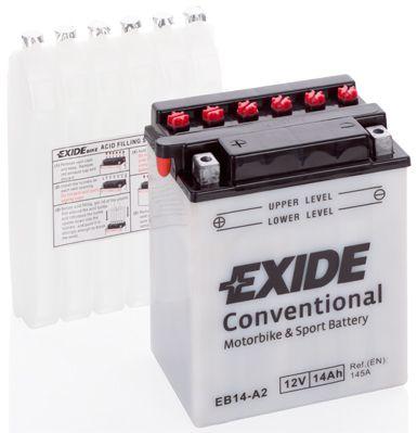 Аккумулятор автомобильный EXIDE EB14-A2 14 Ач