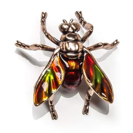 Брошь Moon Paris муха с радужными крылышками (оранжевый)