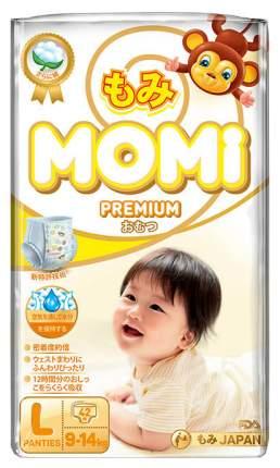 Подгузники-трусики Momi Premium L ( 9-14 Кг), 42 шт.