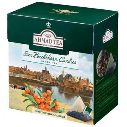 Чай черный Ahmad Tea облепиховые леденцы 20 пакетиков
