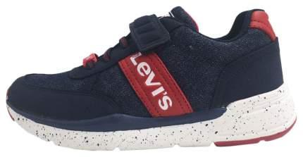 Кроссовки Levi's Kids blue denim red 34 размер