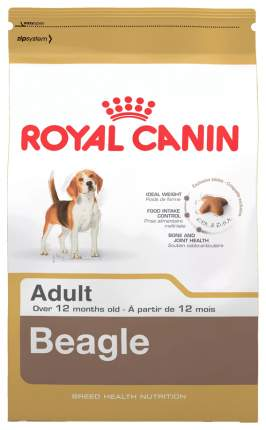 Сухой корм для собак ROYAL CANIN Beagle Adult, рис, птица, 3кг