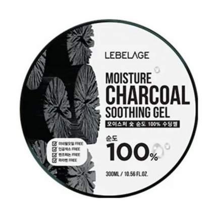 Гель для лица Lebelage Moisture Charcoal Soothing Gel 300 мл