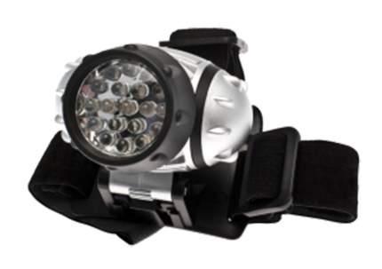 Туристический фонарь Космос H19 серебристый, 4 режима