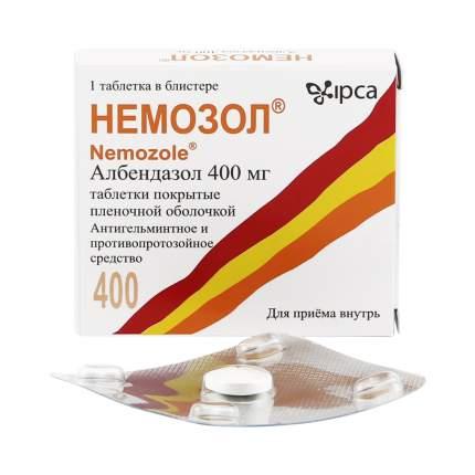 Немозол таблетки 400 мг №1