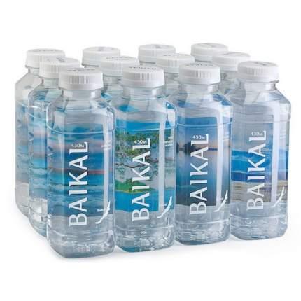 Вода глубинная байкальская Baikal430 0,45 л 12 штук в упаковке