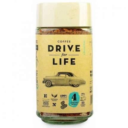 Кофе растворимый живой Drive for Life strong 100  г