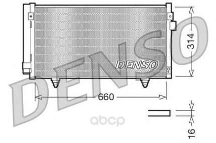 Радиатор охлаждения двигателя DENSO DCN36003