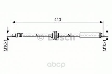 Шланг тормозной системы Bosch 1987481492