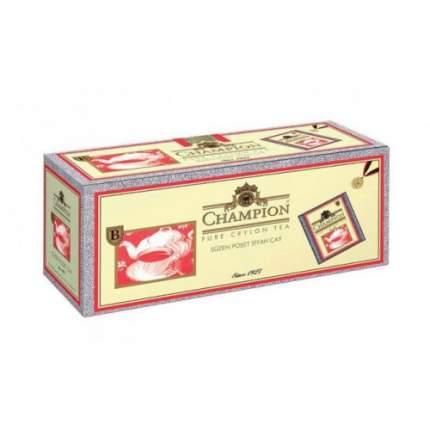 Чай черный в пакетиках для чашки Beta Tea чемпион 25*2 г