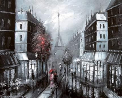Репродукция Лиана Моисеева, Гармония контрастов. Париж 32х40см
