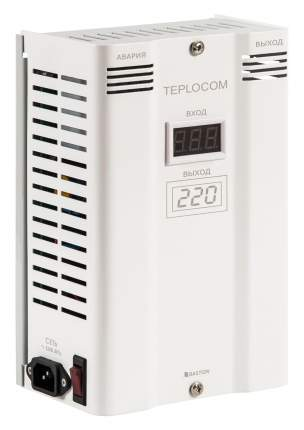 Однофазный стабилизатор TEPLOCOM ST-600 INVERTOR