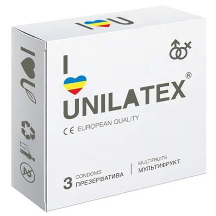 Презервативы Unilatex Multifruit 3 шт.