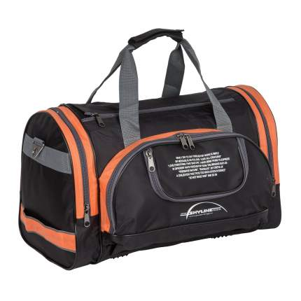 Дорожная сумка Polar П02с-6 оранжевая 30 x 47 x 24