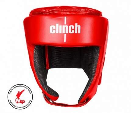Шлем для единоборств Clinch Helmet Kick красный M