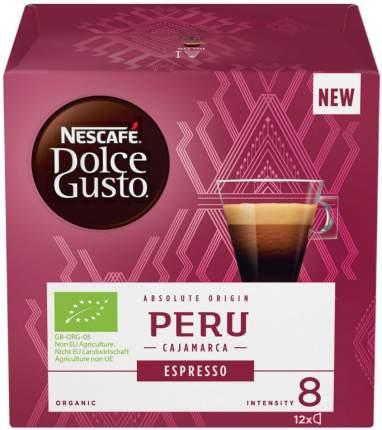 Кофе в капсулах Dolce Gusto espresso Peru 12 капсул