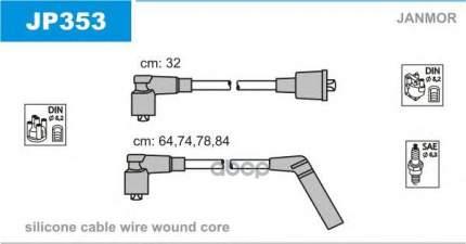 Комплект проводов зажигания JANMOR JP353