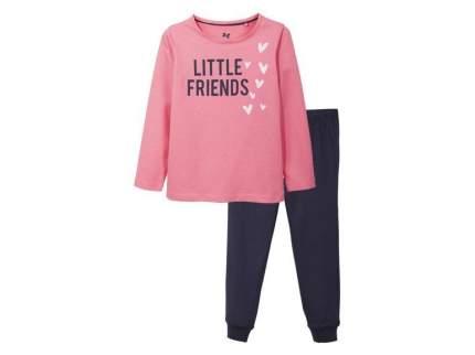 Пижама для девочки Lupilu розовый р.86-92
