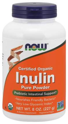 Для пищеварения NOW Inulin Pure Powder 227 мл