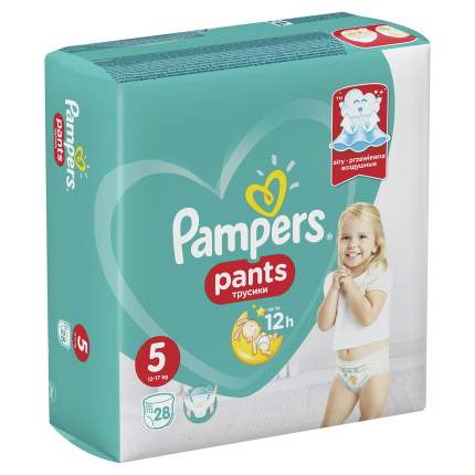 Подгузники-трусики Pampers Pants 5 12-17 кг 28 шт