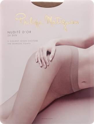 Колготки Philippe Matignon NUDITE D'OR 20 / The (Чай) / 4 (L)
