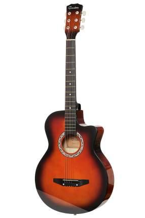 Акустическая гитара COWBOY 3810C SB