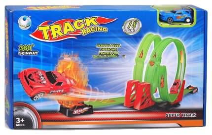 Автотрек Track Racing с машинкой 18 деталей 011-2