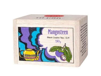 Чай весовой черный Ти Тэнг Mangosteen O.P. в деревянном сундучке 50 г