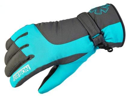 Перчатки женские Norfin Women Windstopper Deep Blue 3, голубые/серые, L