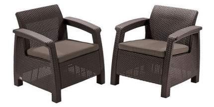 Кресла садовые Corfu II Duo 17197993B 2 шт