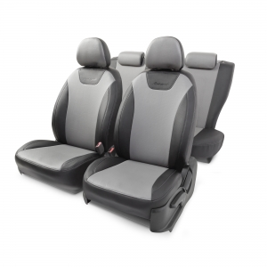 Чехол на сиденье Autoprofi PRI-3Sd(09+)40-60 G BK/D.GY