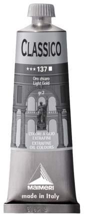 Масляная краска Maimeri Classico светлое золото 60 мл