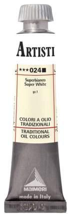Масляная краска Maimeri Artisti M0102024 белила супер 20 мл