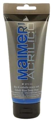 Акриловая краска Maimeri Acrilico M0924371 кобальт синий 200 мл