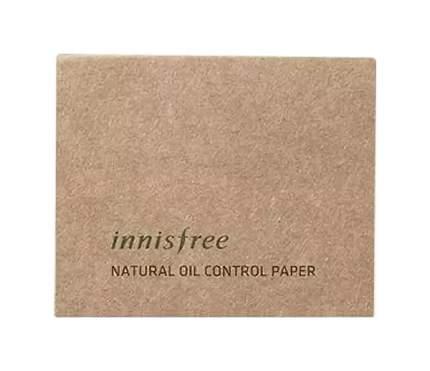 Матирующие салфетки Innisfree Natural Oil Control Paper 50 шт