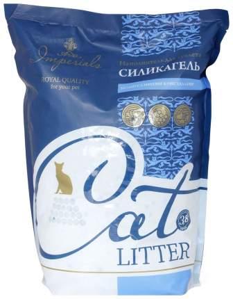 Наполнитель для кошачьего туалета Imperials силикагелевый, белый с синим, 3,8 л