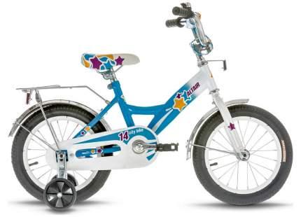 """Велосипед 14"""" Altair City Girl, Белый/Синий RBKT74NF1003"""