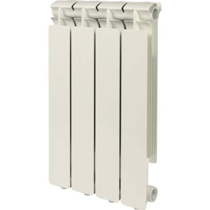 Радиатор алюминиевый Stout SRA-0110-050004 Bravo 500 4