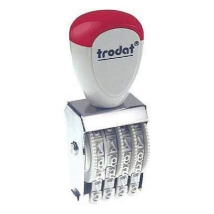Нумератор ленточный Trodat Classic Line 1544. 4 разряда. Высота шрифта: 4 мм.