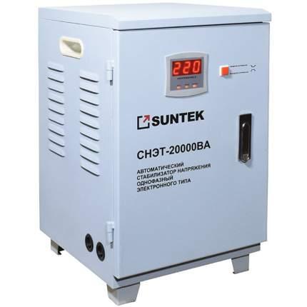 Стабилизатор напряжения релейного типа SUNTEK 20000ВА